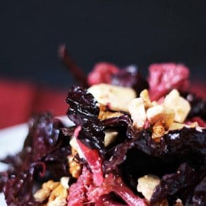 Pickled Purple Cauliflower Salad