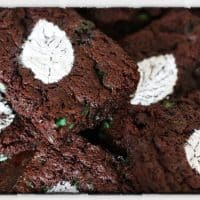 Minted Brownies