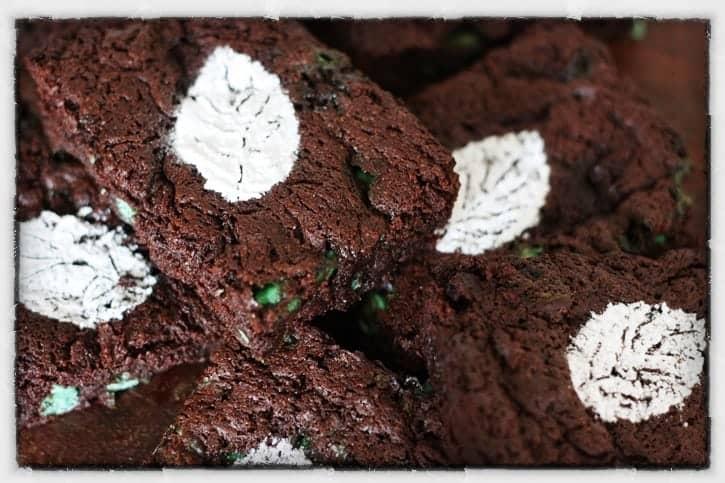 Minted Brownies