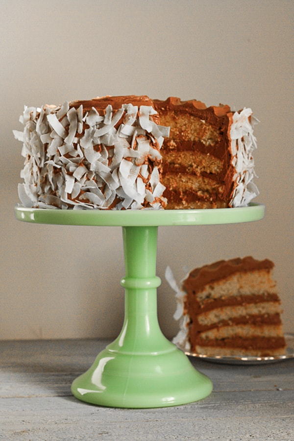The Coconuttiest Gluten-Free Bounty Cake in town
