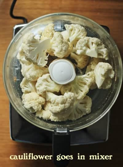 Cauliflower in mixer2