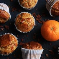 Caramelised Bacon and Marmalade Muffins