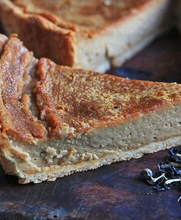 Chai Tea Custard Tart