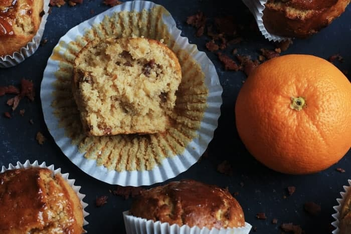caramelised Bacon and marmalade muffins3