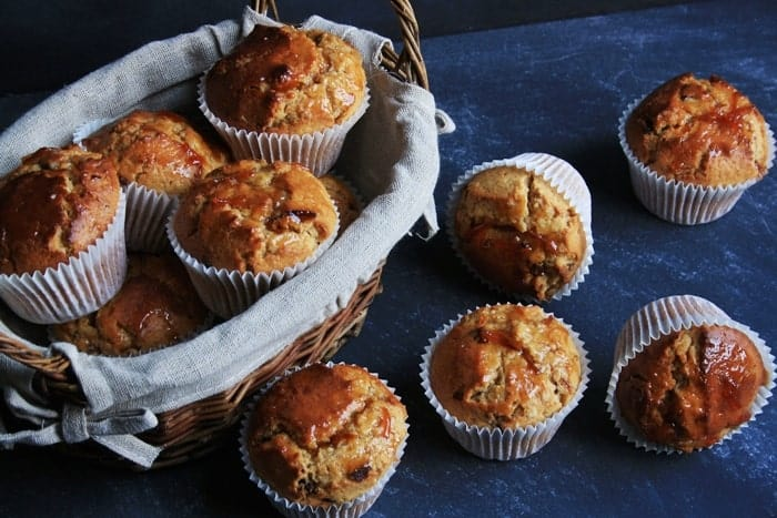 caramelised bacon and marmalade muffins4