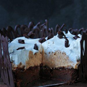 Blond Chocolate Mousse Cake {gluten-free}
