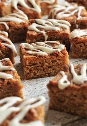 Snickerdoodle and Marshmallow Blondies