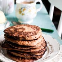 Banana and Walnut Paleo Pancakes
