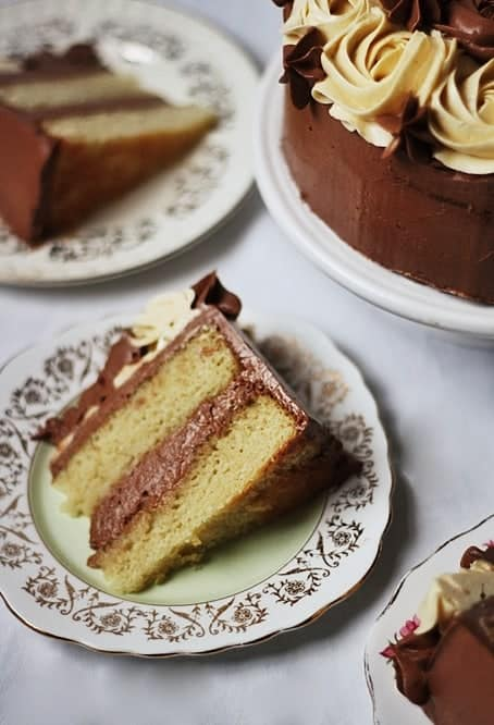 Vanilla Malt Cake with Mocha Buttercream | Stroud Green Larder
