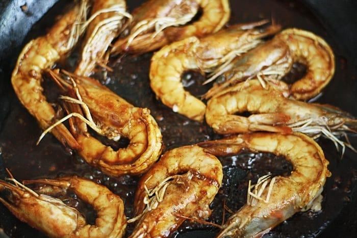New Orleans Barbecued Shrimp     Stroud Green Larder