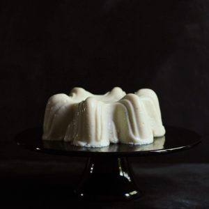 Black Pepper Blancmange
