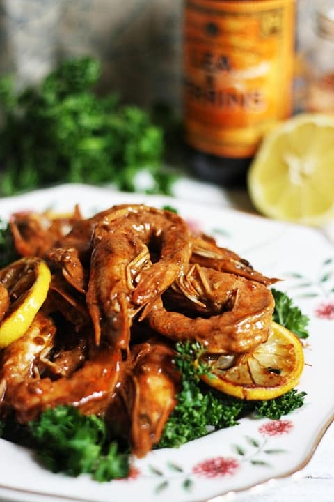 New Orleans Barbecued Shrimp  |  Stroud Green Larder