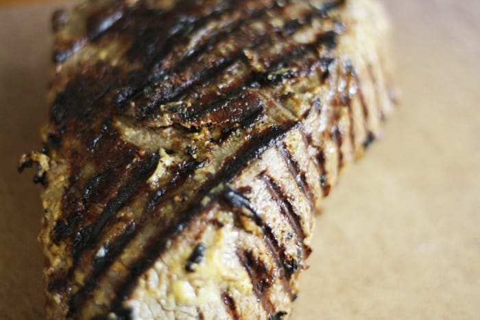 Chargrilled Steak with Sun-dried Tomato and Anchovy | Stroud Green Larder