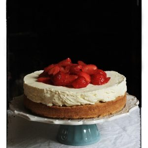 Strawberry Snickerdoodle Cheesecake