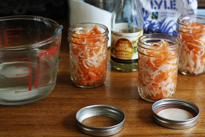 Vietnamese Carrot and Mooli Pickles  Stroud Green Larder