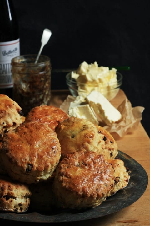 Wensleydale and Bacon Ale Jam Scones | Stroud Green Larder