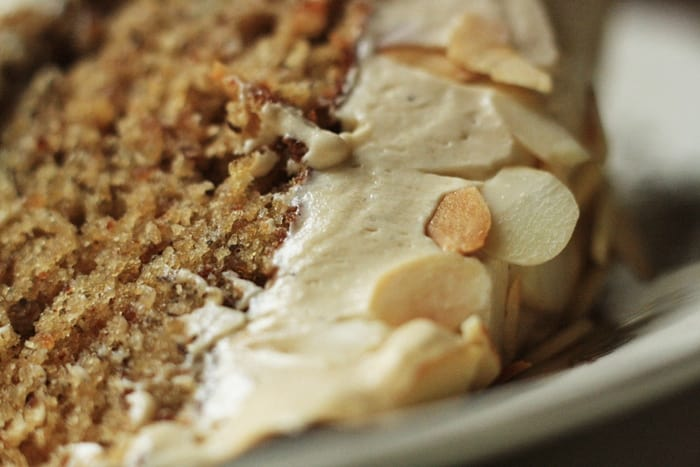Banana and Almond Cake with Toffee Whipped Buttercream  |  Stroud Green Larder
