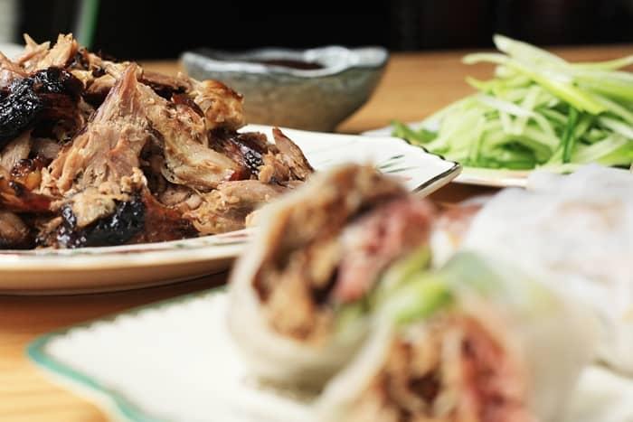 Crispy Duck Summer Rolls  |  Stroud Green Larder