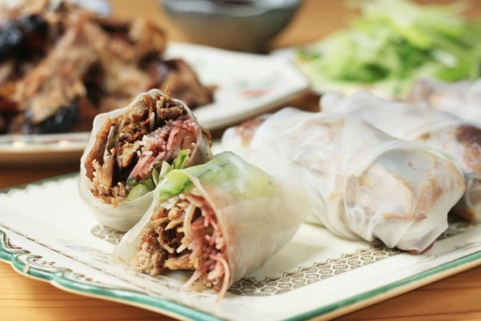 Crispy Duck Summer Rolls | Stroud Green Larder