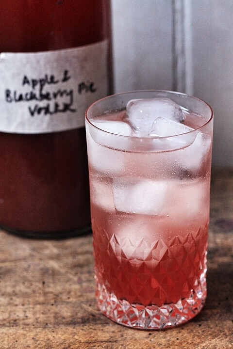 Apple and Blackberry Pie Vodka  |  Stroud Green Larder