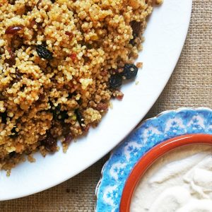 Breakfast Quinoa with Cashew Cream