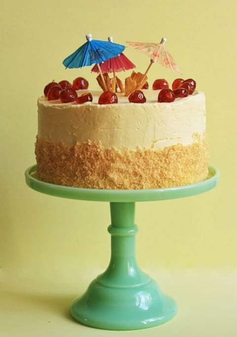(Escape) The Pina Colada Cake