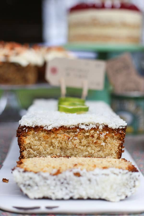 Frosted Coconut Lime Loaf