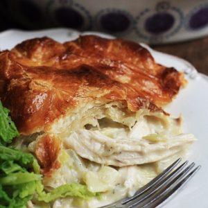 Chicken and Leek Pie {gluten-free}