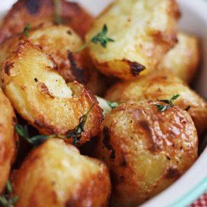 Cream Baked Roast Potatoes