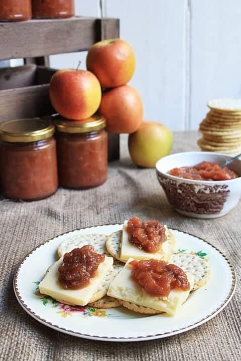 Apple & Stem Ginger Chutney