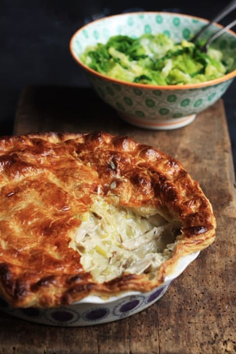 Chicken and Leek Pie