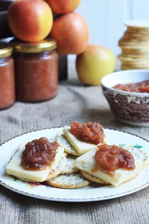 Apple & Stem Ginger Chutney