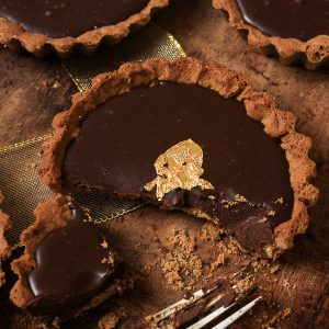 Chocolate and Gingerbread Five-Spice Tarts