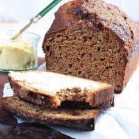 Sticky Date and Banana Malt Loaf