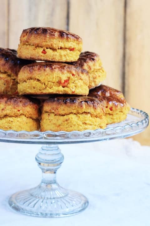 Butternut Squash and Chilli Scones