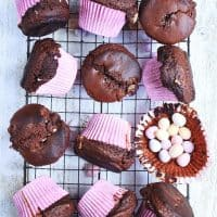 Mini Egg Chocolate Muffins