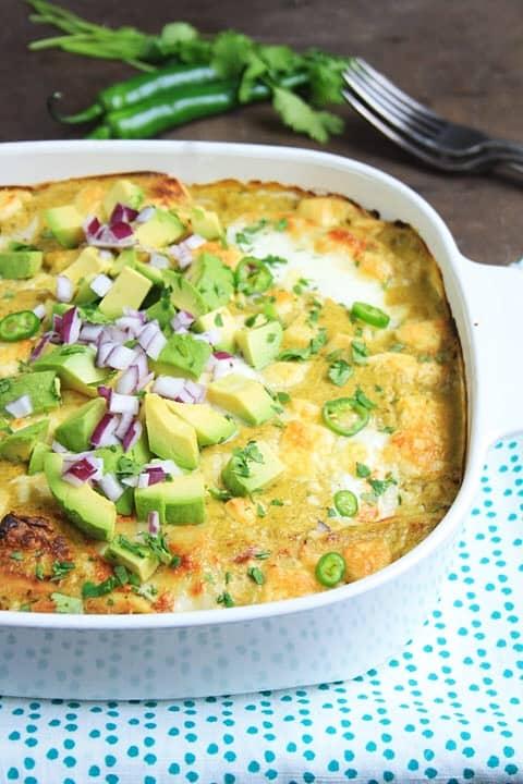 Enchiladas Suisa