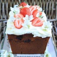 Strawberry Honey Cake.
