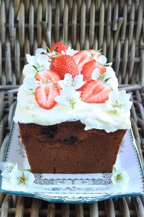 Strawberry Honey Cake.