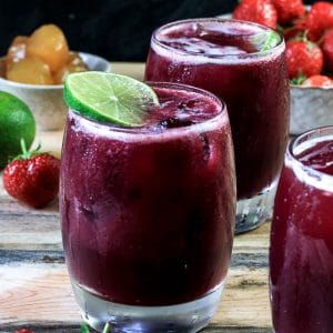 Strawberry and Stem Ginger Sangria