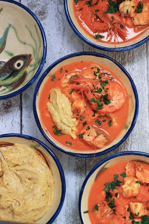 Fish Soup with Rouille