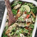 Coronation Chicken Salad