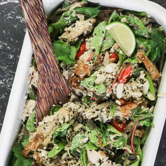 Coronation Chicken Salad