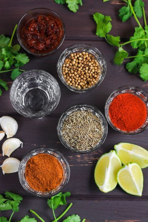 Homemade Smoky Fajita Seasoning Paste