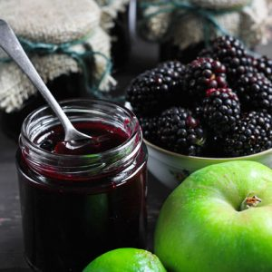 This easy Seedless Wild Blackberry and Lime Jam is a deliciously versatile four ingredient jam with no added pectin and a tangy zesty flavour.