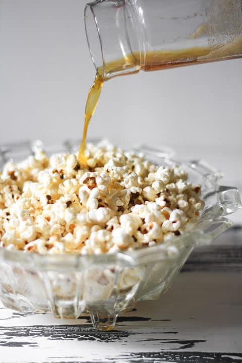 Perfectly Sweet n'Salty Popcorn is no fuss and the ideal accompaniment to movie night