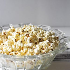 Perfectly Sweet n'Salty Popcorn