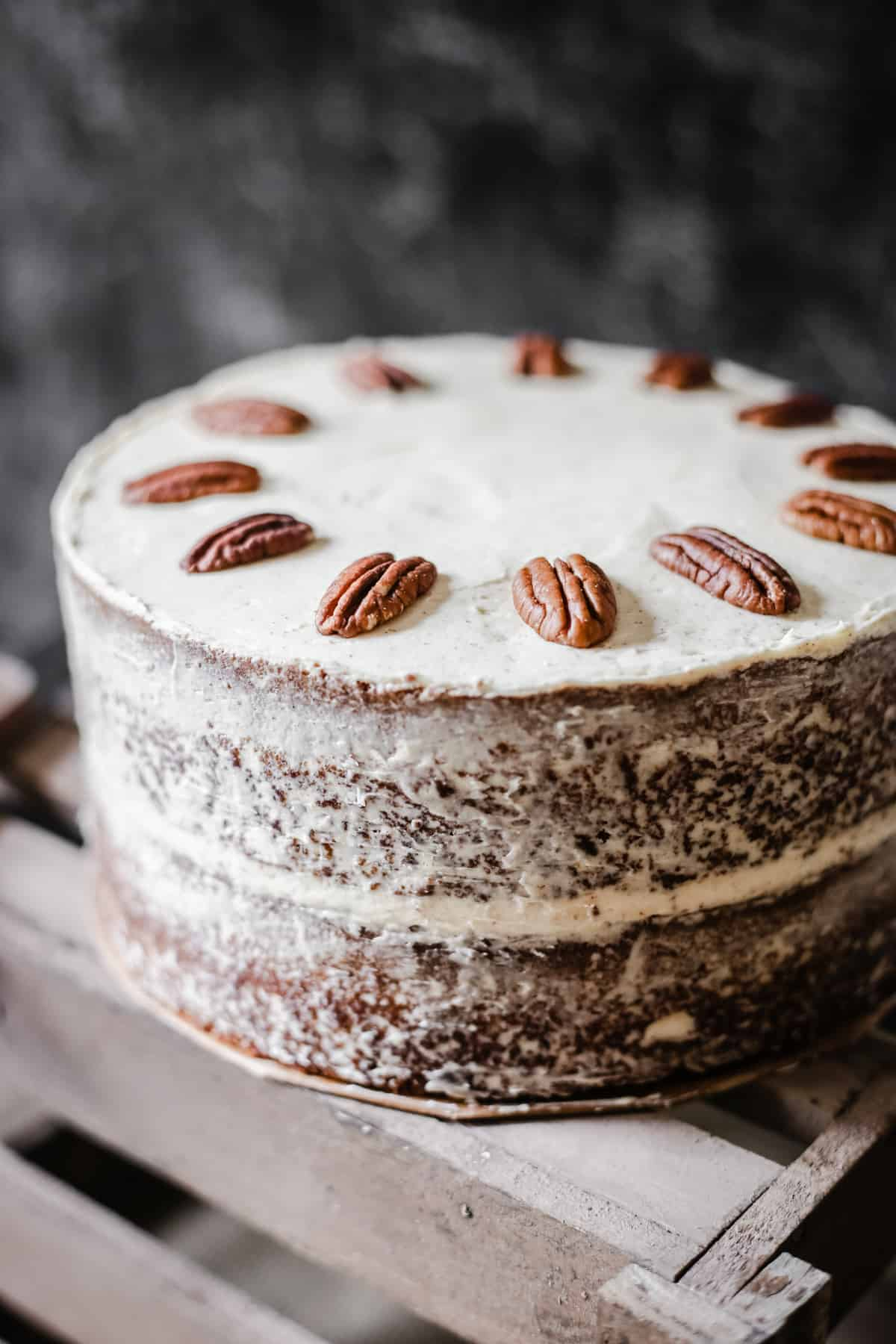 Pecan Butterscotch Latte Cake