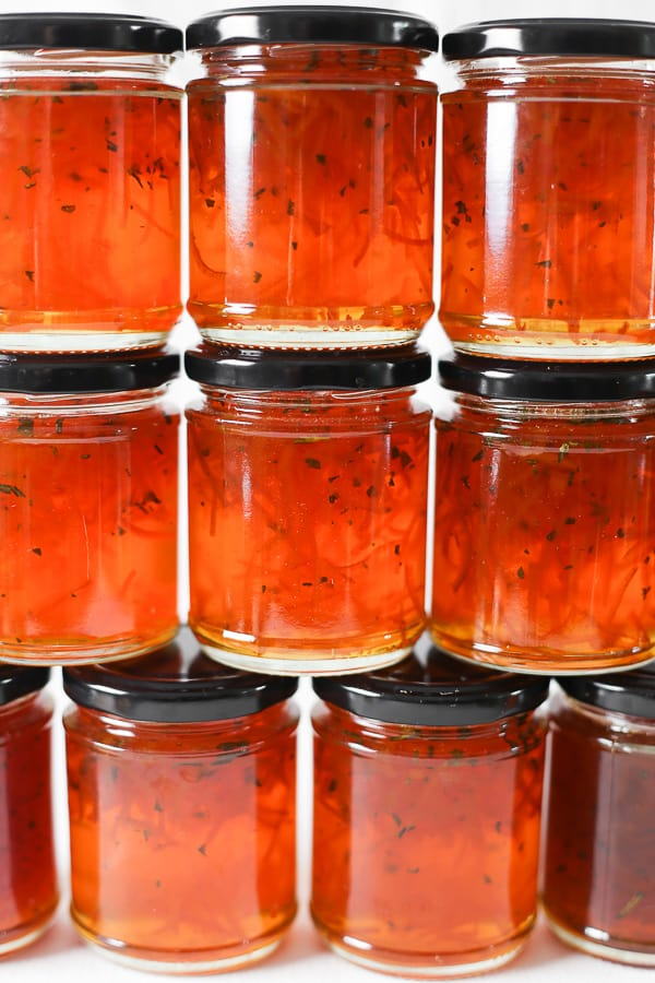 This Seville Orange Grapefruit Rosemary Marmalade is a traditional marmalade, rich and slightly bitter with a zesty sweetness