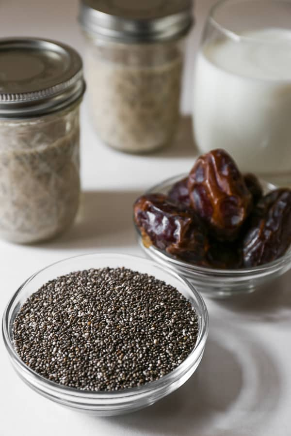 Easy Overnight Coconut Chia Puddings are a refrigerator staple. It takes 10 minutes to prepare and a night to ready itself to become a week-long lifesaver.
